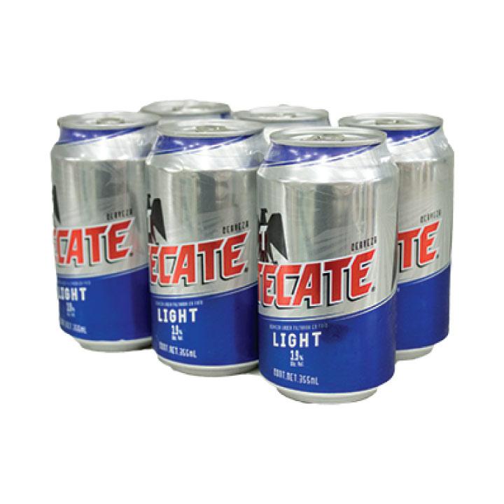 Cerveza Tecate Light Six Pack Smartfinal